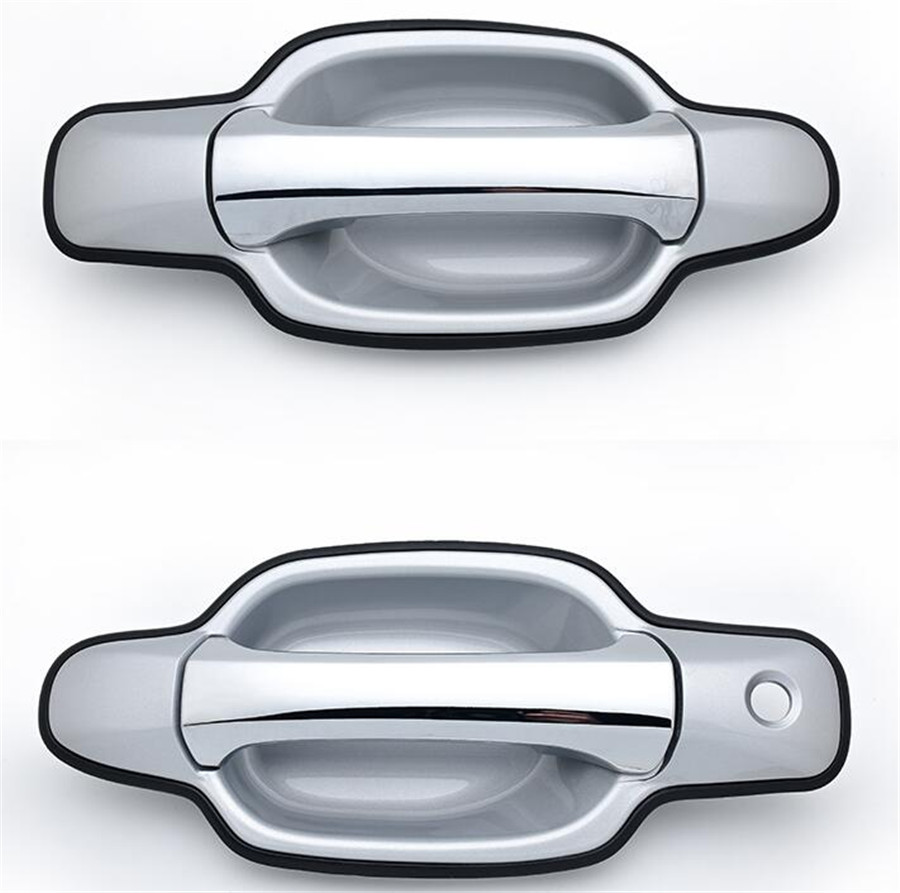 for Ford F Pickup Outside Exterior Door Handle Front Left Right Pair Textured