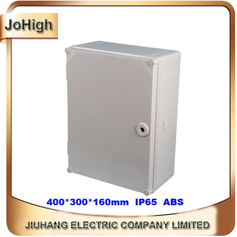 Quality Product ABS Material IP65 Standard Waterproof Junction Box  400*300*160mm free shipping 1piece lot top quality 100% aluminium material waterproof ip67 standard aluminium junction box 120 120 82mm