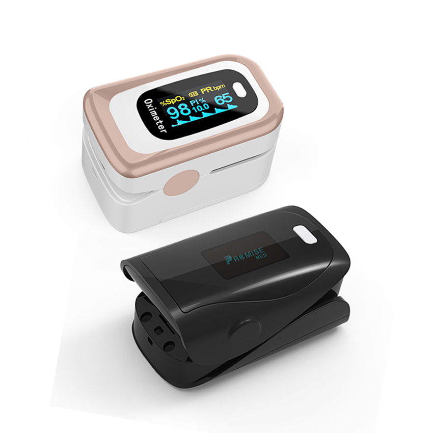 PR+MISE M170+F9 Household Health Monitors Finger Pulse Oximeter ABS Silicone Sensor Equipment Pulsioximetro