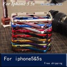 Бампер на iphone SE бампер рамка чехол для iphone 5 5S ультра тонкий чехол для iphone 6S 7 8 плюс Чехол для телефона