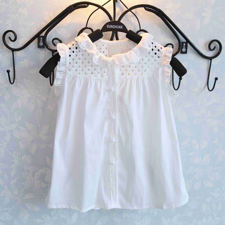 New-Brand-Fashion-Summer-Girls-Clothing-Sets-Baby-Kids-Clothes-Petals-Sleeveless-T-Shirt-Red-Pants-2Pcs-Suits-Girls-Clothes-1