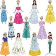 37734bf0ed 1 zestaw bajki Tale księżniczka sukienka kopii śnieżka kopciuszek Anna  suknia na przyjęcie ślubne akcesoria ubrania