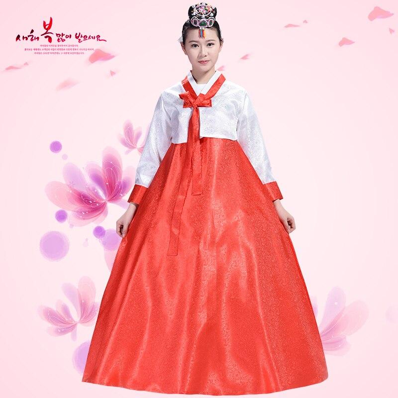 New Asia Hanbok Formelle Kjoler Koreansk Tradisjonell Klær Dameklær - Nasjonale klær - Bilde 3