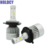 9004 9007 H4 Hi Lo Beam LED Car Headlight H7 H1 H3 LED Headlights 72W 8000LM