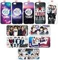 2016 segundos de verano 5sos cubierta del teléfono celular para iphone 5 5s se 5c 6 6 s para samsung galaxy a3 a5 a7 a8 e5 e7 j1 j2 j3 j5 j7 caso