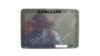 JIANGLUN LP101WX2 SLP1 LCD Touch Screen Assembly  With Frame For HP Elitepad 900