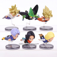 Dragon Ball Z Flying Super Saiyan Son Goku Gohan Android NO 18 NO 17 Cell Trunks