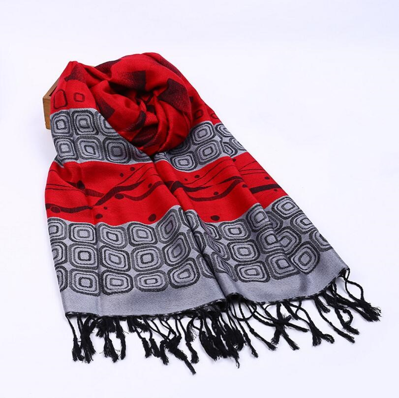 VISNXGI New 2018 Womens Scarf Long Fashion Casual Warm Polyester Shawl Plaid Infinity Scarf Knitted Scarf Women Winter Scarves