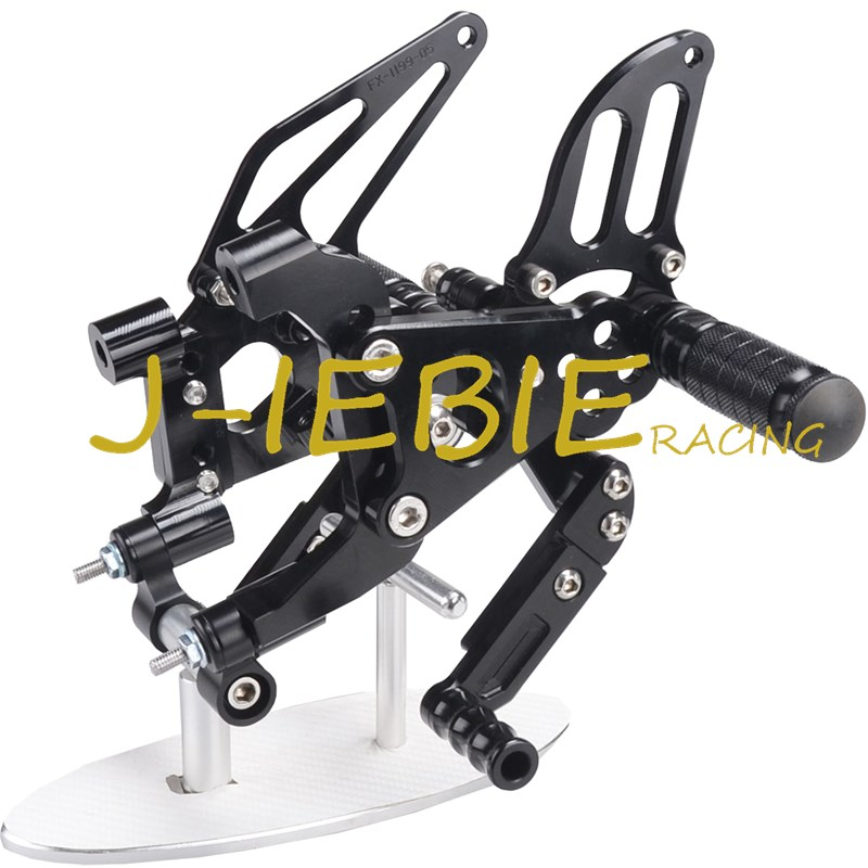 CNC Racing Rearset Adjustable Rear Sets Foot pegs Fit For Ducati 899 959 1199 1299 Panigale