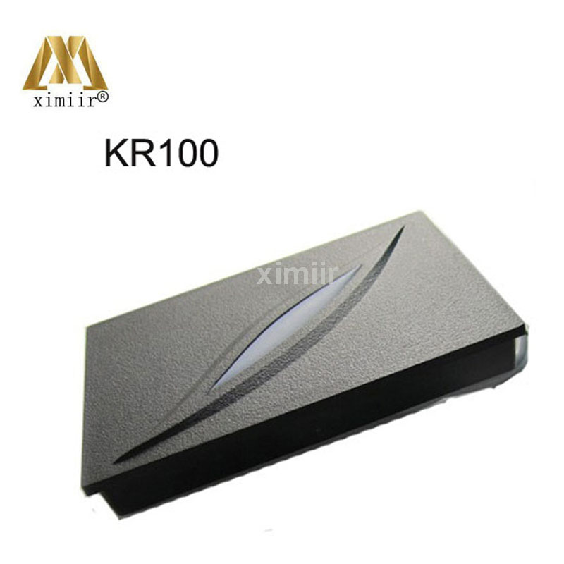 Waterproof IP65 Card Reader Wiegand 34 Door Access Control System 13.56MHZ IC Card Proximity Card Reader KR100M