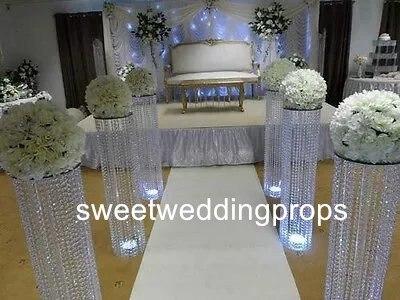 acrylique de mariage vases tableau des centres grand et grand vase de fleur de mariage dans. Black Bedroom Furniture Sets. Home Design Ideas
