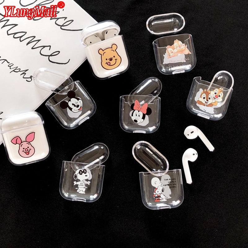 luxury cute cartoon wireless earphones cover case for