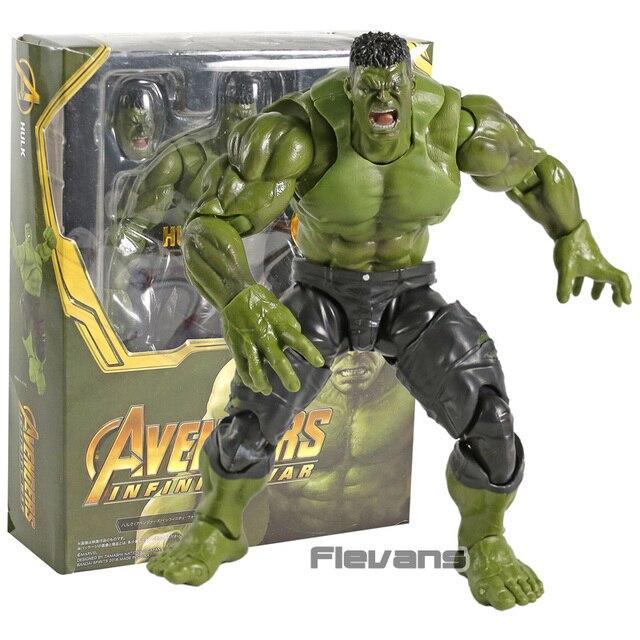 Vingadores Hulk Infinito Guerra PVC Action Figure Collectible Modelo Toy