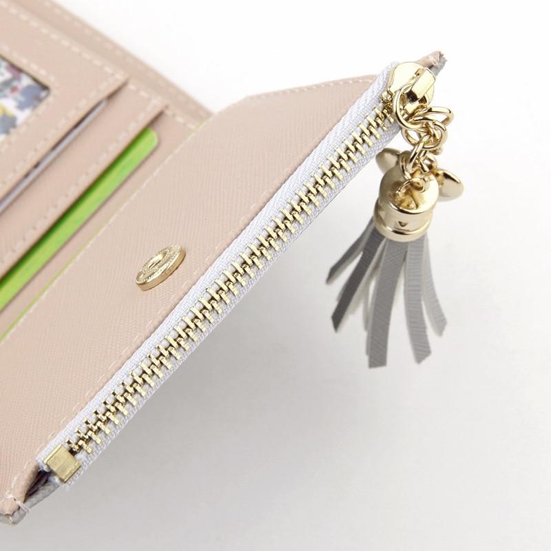 Wallet Female For Coins Cute Wallet Women Small Leather Women Wallets Zipper Purses Portefeuille Wallet Female Purse Clutch #4