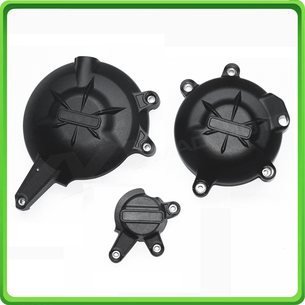 Engine Case Cover Slider / Protector Set for Kawasaki Ninja 650R ER6-f/n KLE650 VERSYS 650 2006 - 2016 07 08 09 10 11 12 13 14 стоимость