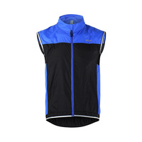 Men Cycling Vest Windproof Waterproof Breathable Reflective Clothing MTB Bike Bicycle Cycling Sleeveless Jacket