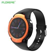 Floveme bluetooth smart watch für ios android smartwatch schrittzähler herzfrequenz wifi quad-core-sim karte zifferblatt tragbare geräte gps