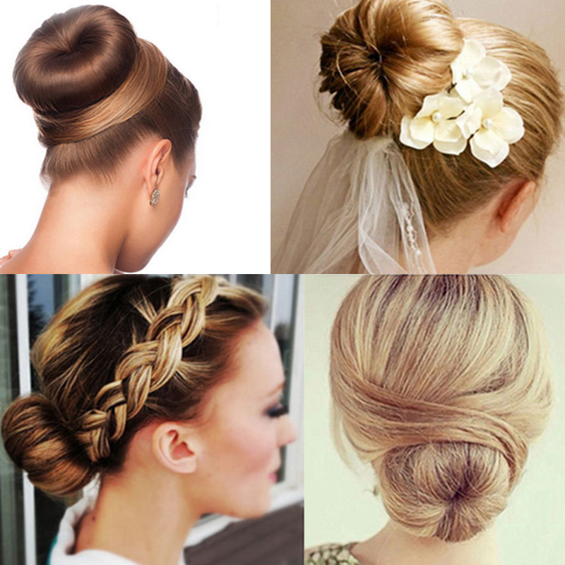 Beauty & Health Dedicated Women Hair Accessories Hair Curls Bun Hair Band Hair Twist Styling Synthetic Wig Braid Tools Bun Maker