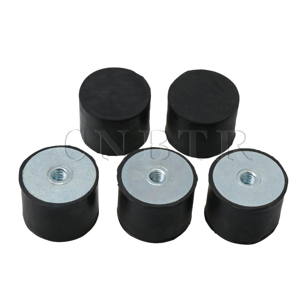 Uxcell Soporte de goma c/ónica para amortiguaci/ón de vibraciones con aislador de goma antivibraci/ón M6 M8 M10