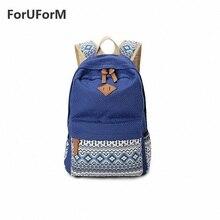 Leinwand frauen Trend Freizeit Allgleiches College-stil Rucksack Bags-GL053