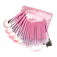 22 Pçs/set Pincéis de Maquiagem Profissional Cosméticos sombra blush lipgloss batom Fundação Face Powder Eye Brush Presente Das Meninas