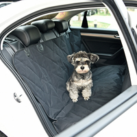 New Car Pet Cushion Black Color Grid Traces Easy Put in Car Protect Clean Dog Seat Cover For Travel Carriers Pet Supplies