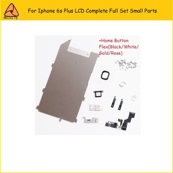 20Pcs/lot LCD Assembly Digitizer Full Set Small Repair Parts Home Button Front Camera Ear Speaker Flex for iphone 6s Plus 5.5''
