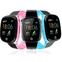 HW11 IP67 Waterproof Children Family Bluetooth Pedometer Smart Watch Wearable Device GPS SOS Call Kids Safe For Android