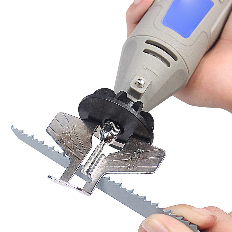Chainsaw Sharpening Kit Electric Grinder Sharpening Polishing Attachment Set Saw Chains Tool --M25