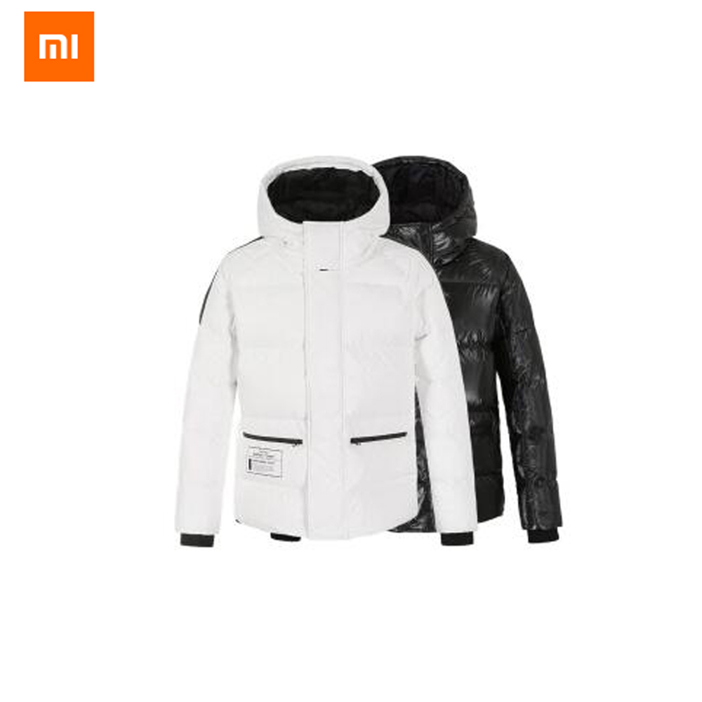 Оригинальный Xiaomi youpin Uleemark пальто DuPont бумажный гусиный пух куртка 90% белый гусиный пух наполнение водонепроницаемый для мужчин и женщин