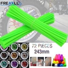 72Pcs/Pack Off-road Bike Wheel spoke skin Colorful Motocross Rims Skins Covers For HONDA CRF230 CRF250 CRF450 CRM250 XR250 XR400 520 pitch 122 link heavy duty o ring motorcycle chain for honda cr125 cr250 cr500 crf230 crf250 crf450 xr250 xr400 xr600 xr650