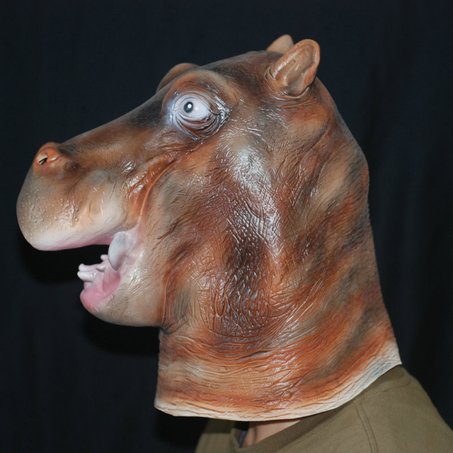 Hippo Head Mask