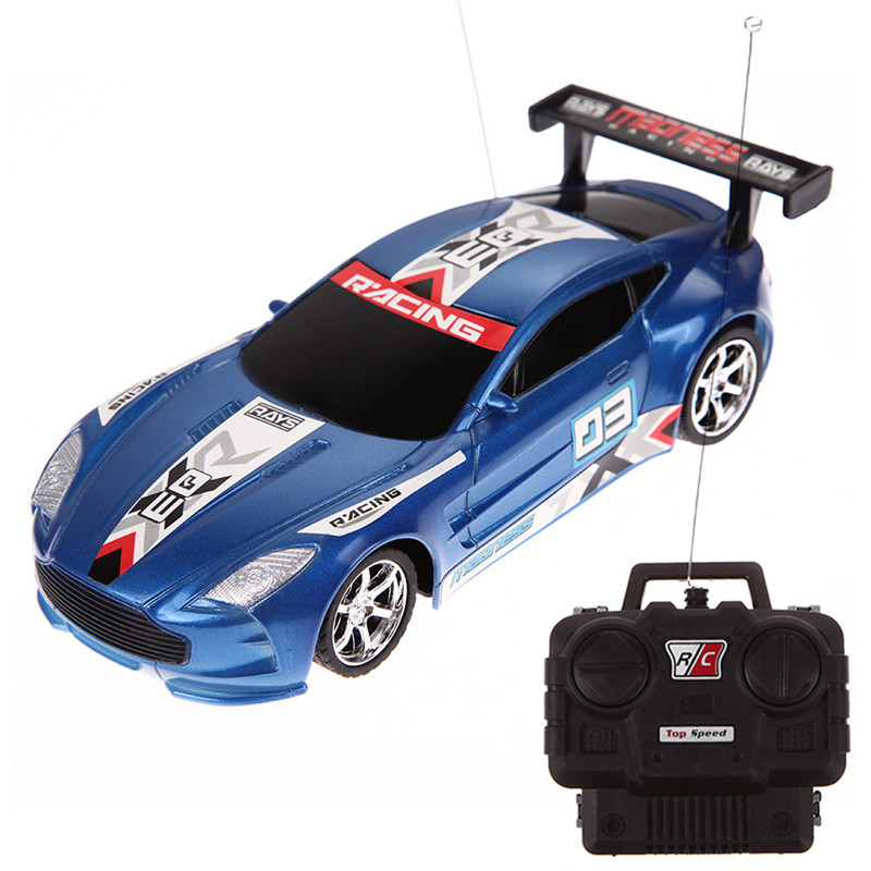 hot 124 drift speed radio remote control rc rtr truck racing car kids toy