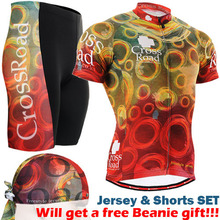 2017 Brand Cycling Sets Team Cycling Jerseys Sets Sports Clothing Road Bike Tops Shirt + MTB Bicycle Padded Shorts Pads