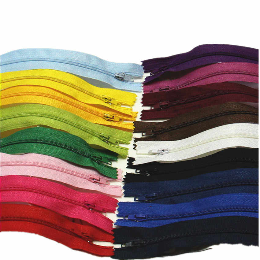 20 см многоцветные 3 # пластиковые молнии освещение подъема DIY аксессуар нейлоновая молния для шитья мешочек ручного изготовления материал изделия освещение