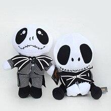 20-25cm The Nightmare Before Christmas Jack Skellington Plush Toy.Doll Skull Jake Plush Soft Stuffed Toys for Children Kids Gift