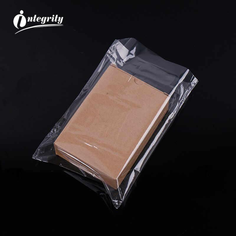 Integridade 50-100 pçs todos os tamanhos pof, saco de embrulho, de plástico transparente aberto, saco de presente diy saco de embalagem de cosméticos