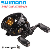 Original SHIMANO BASS ONE XT Right/Left Hand Baitcasting Fishing Reel 4+1BB 7.2:1 SVS System Round Coil Carp Fishing Reel Pesca