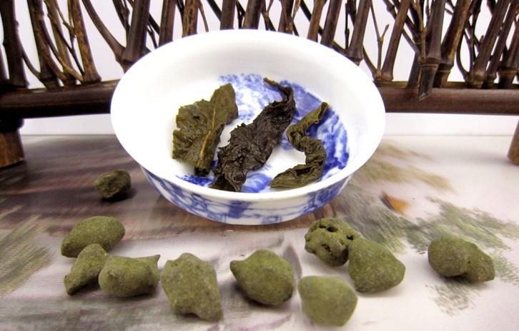 чай женьшеневый улун фото