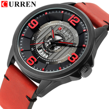 CURREN 2018 NEW Men Watches Digital Quartz Army Military Waterproof Cl