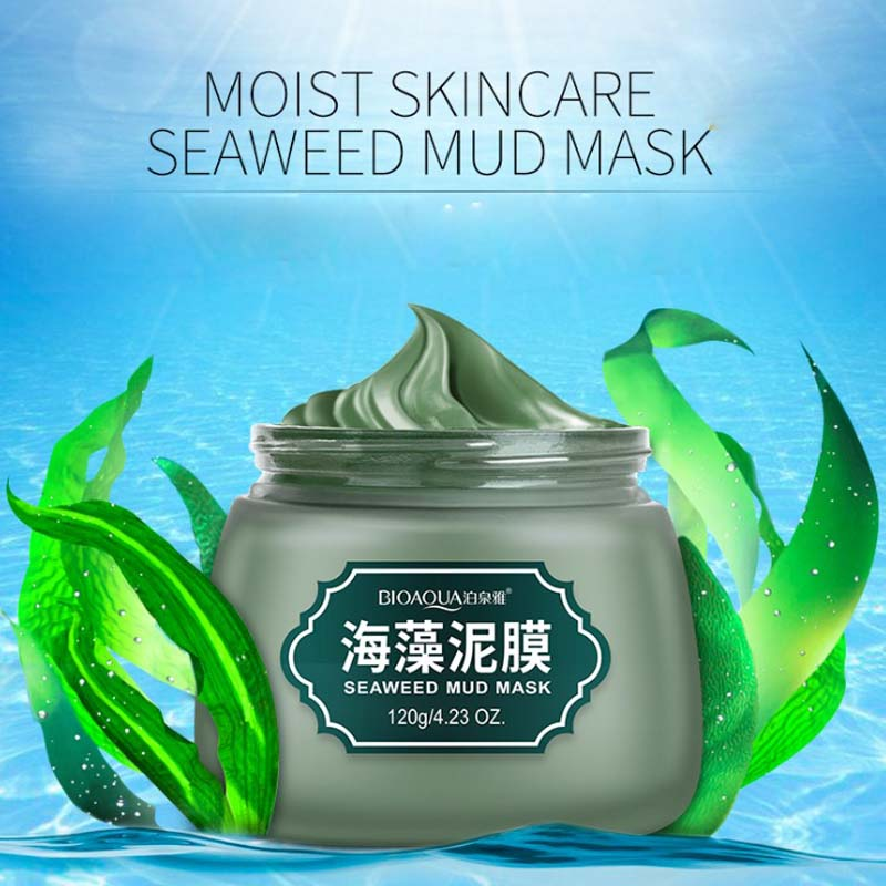 New Mineral Mud Shrink Pores Face Care Nose Facial Blackhead Remover Mask Pore Cleanser Black Head EX Pore Strip Face Mask Acne
