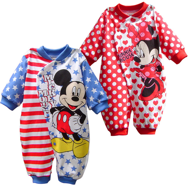 dd10baf387d Aliexpress.com   Buy Baby Unisex Cartoon Infant Cute Rompers from ...
