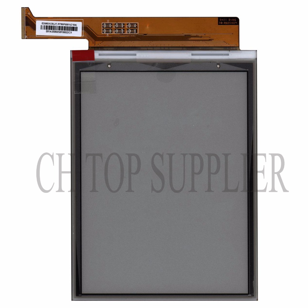 100% new original ED060XC5 (LF) E-ink screen for Gmini MagicBook R6HD readers free shipping