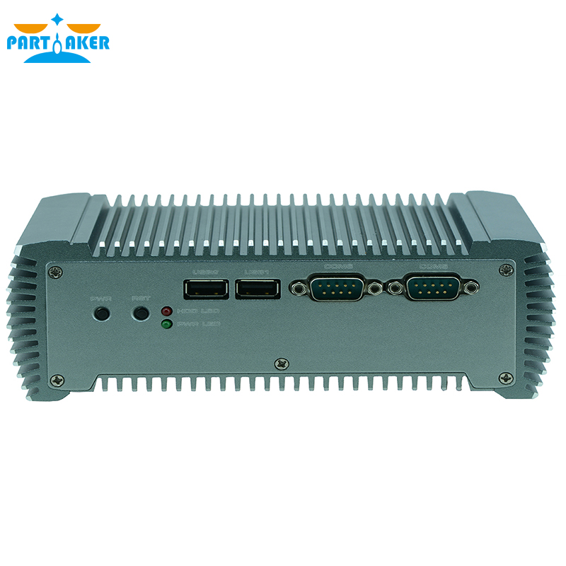 Teilhaftig Q10 Embedded Fanless Industrie Mini PC Intel Core i5 3317u C1037U Unterstützung wake on LAN/PXE