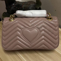 Luxury Brand Cow Leather Bags For Women 2019 Design Top Quality Real Leather Shoulder Bag Classic Marmont Bags Free DHL