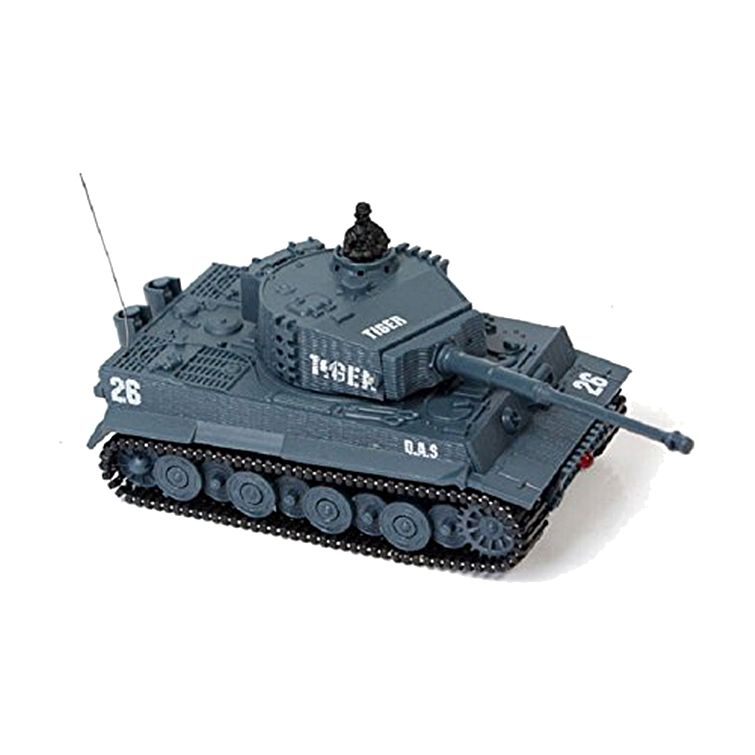 New Mini 1:72 49MHz R/C Radio Remote Control Tiger Tank 20M Kids Toy Gift Army (Grey) сотовый телефон irbis sp453