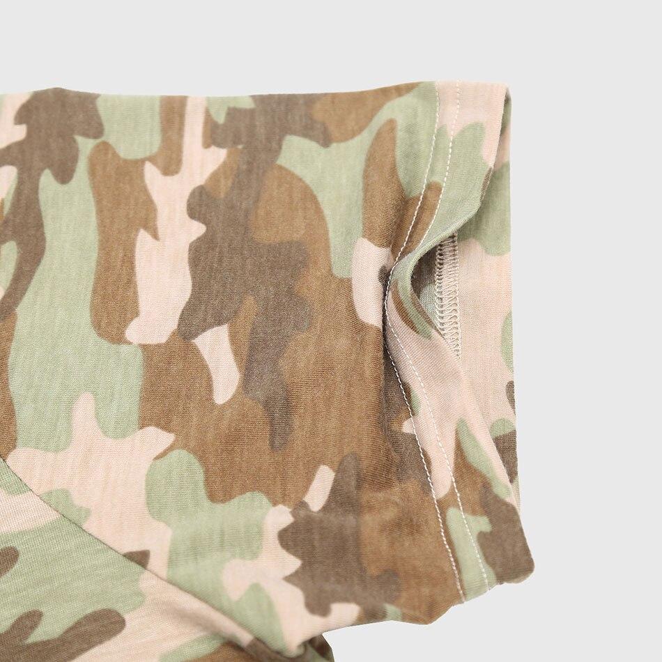 a5b64985d2f7 Mannen Camo Print T shirts Stedelijke Camouflage Tee Shirts Korte mouw O  Neck Grafische Tops Katoen Unieke Designer Legergroen dragen in Mannen Camo  Print ...
