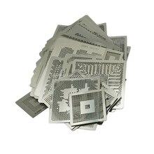 Direct heating BGA reballing stencil kit 219 pcs/set direct heat jig suitable bga reballing soldering station
