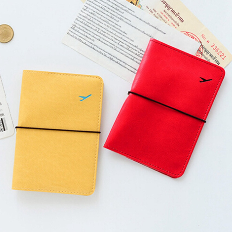 Hot Sale 2018 Travel Passport Bag Women Card Holder General Leather Protector Cover Card Package Business Card Package