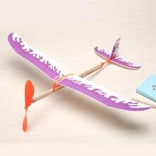 Планер наука бумажный резинкой самолет образования машины модель компл. творческий обучение